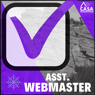 Become CASA's Assistant Webmaster